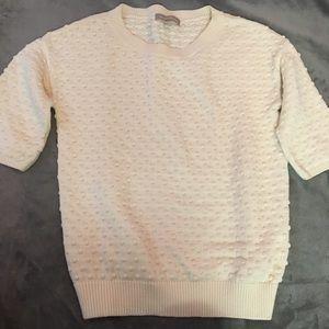 Banana Republic cream knit sweater